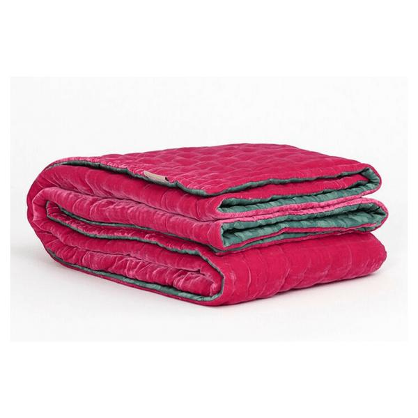 Silk velvet bedspread RH 306