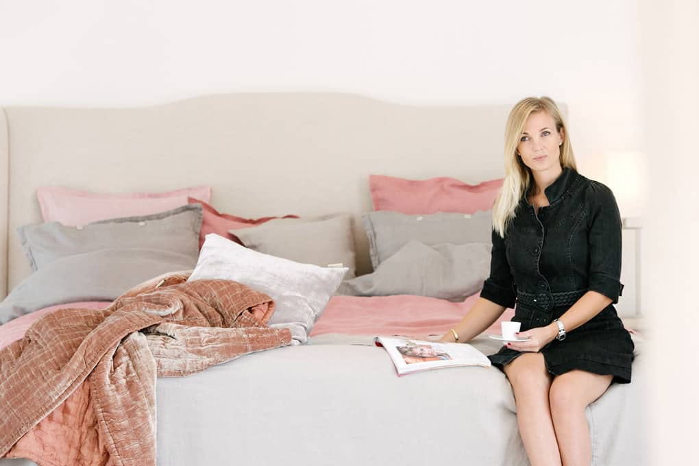 Fabric Copenhagen - Linen Bedspread Tina Lund